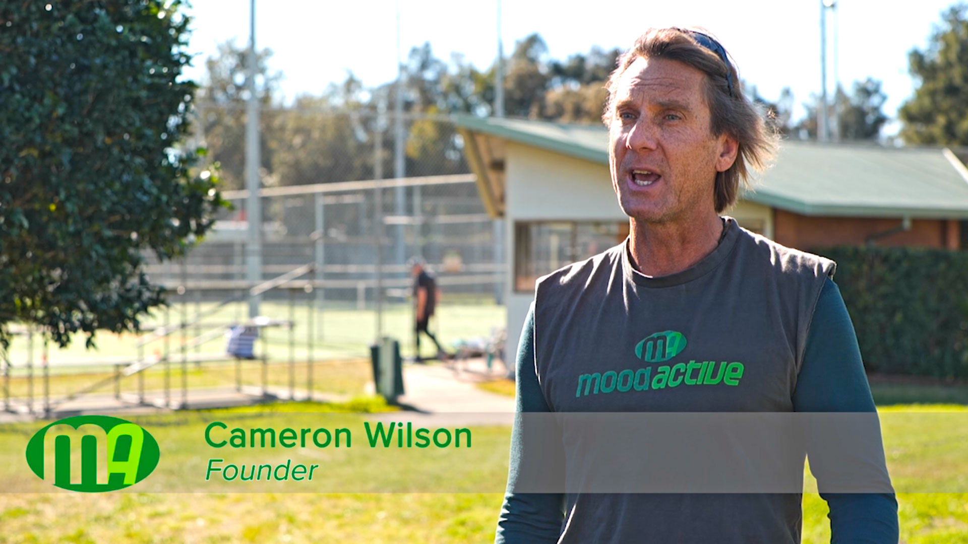 Cameron Wilson speaking on video about Mood Active
