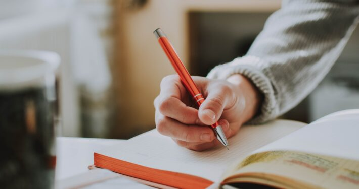Journaling can help you manage our anxiety